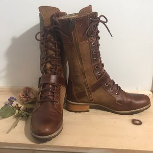 Timberlands Earthkeeper Bethel Mid Lace Boots- 8.5
